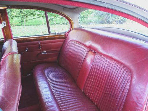 1969-daimler-v8-250-deep red original leather interior