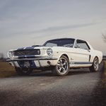 1966 white ford mustang GT350