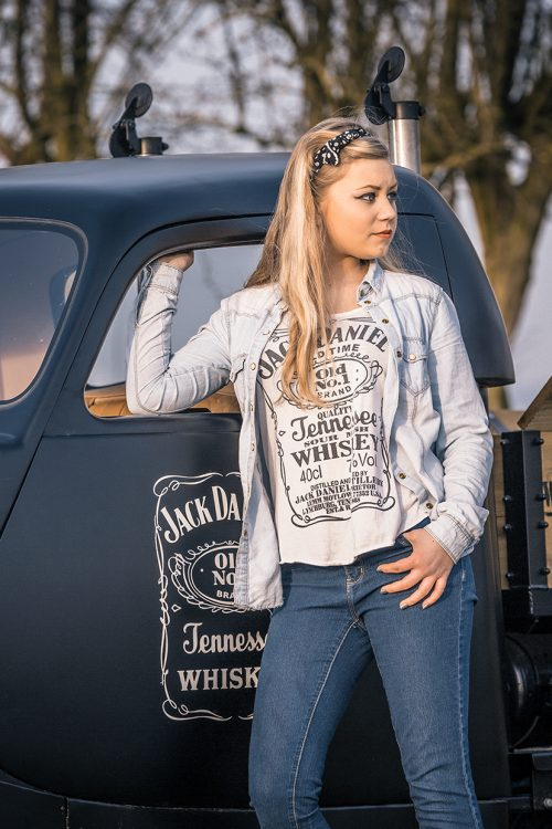 Rat Rod and Jack Daniels ad