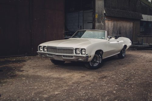 1970-white-buick-skylark-convertible - 18 foot of American muscle