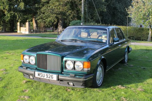 Bentley Brooklands front