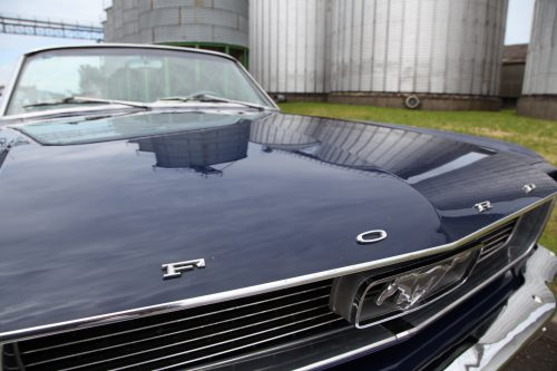 1966 Ford Mustang Convertible grille