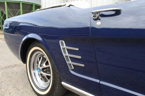 1966 Ford Mustang Convertible side vent
