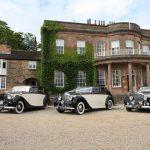 Rolls Royce and two matching Bentleys