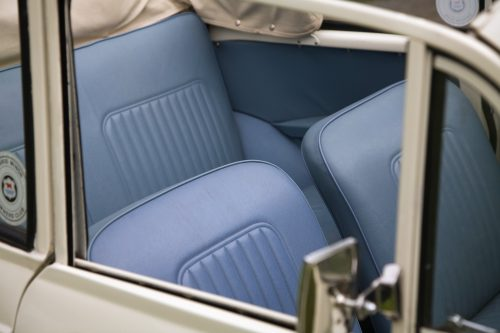 1968 Morris Minor Convertible interior