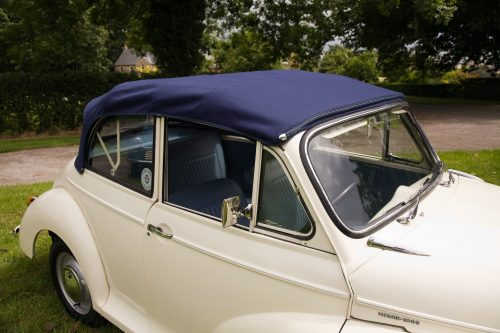 1968 Morris Minor Convertible in white
