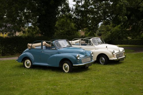 matching Morris Minor Convertibles