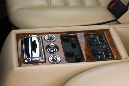 Bentley Eight interior woodwork and leather