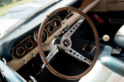 1966 Ford Mustang GT 350 - dashboard